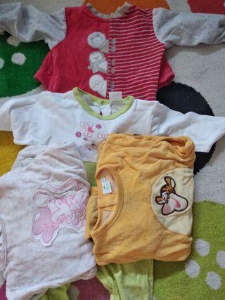 12 pijamas bebé