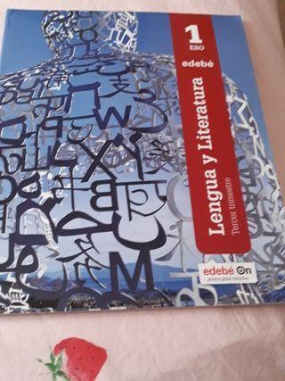 libro literatura edebe tercer trimestre 1eso