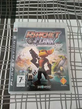 Ratchet Clank '' armados hasta los dientes'' PS3