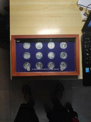 Monedas del centenario del Real Madrid