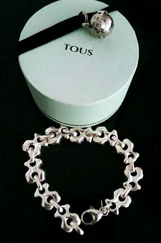 Pulsera de plata original TOUS