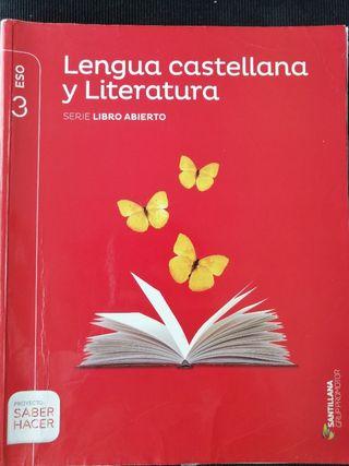 Libro Lengua Castellana i Literatura 3 ESO