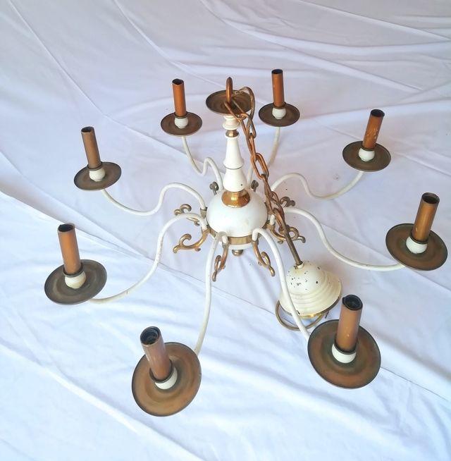 Lámpara araña holandesa antigua
