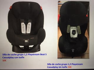 Silla de coche grupo 1 y 2, Playxtream Beat