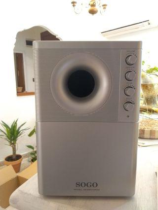 Sistema de sonido 7.1 de Sogo