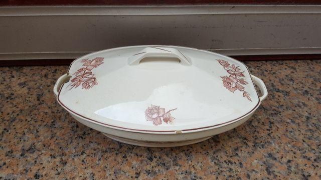 sopera cerámica San Claudio Oviedo