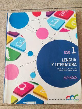 libro lengua y Literatura 1r ESO