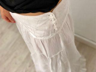 Falda blanca Ibicenca