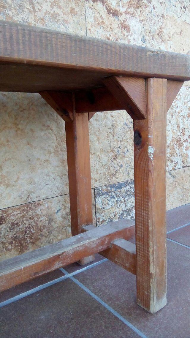 bancos madera