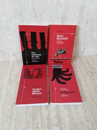 4 libros ALFAGUARA