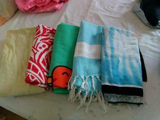 5 toallas de playa