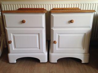 Bedside side cabinets
