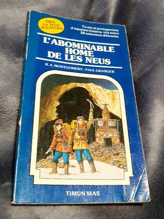"""LIBRO: """"L'ABOMINABLE HOME DE LES NEUS"""""""