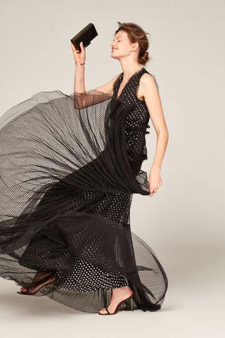 Vestido Polka Carolina Herrera por Iphone