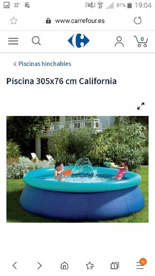 piscina hinchable mod. California