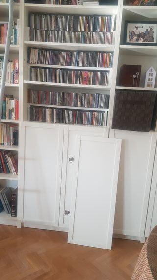 4 puertas para estanteria billy Ikea