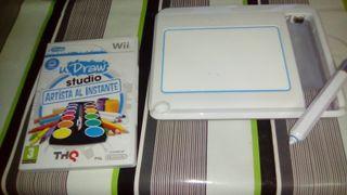 tableta y juego wii