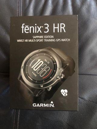 Reloj Garmin fénix 3 zafiro