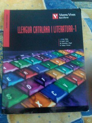 Libro Bachillerato Lengua catalana y literatura-1