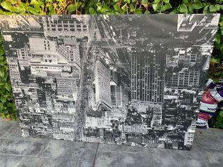Cuadro de tela grande new York