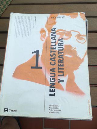 libro bachillerato lengua y literatura castellana