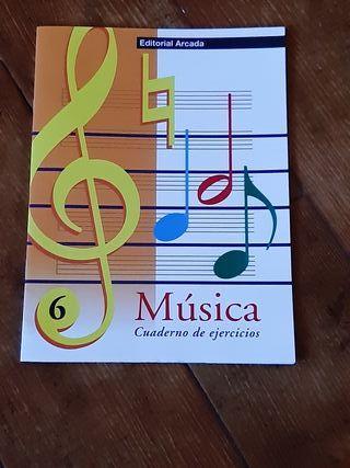 Cuaderno de Ejercicios de Música