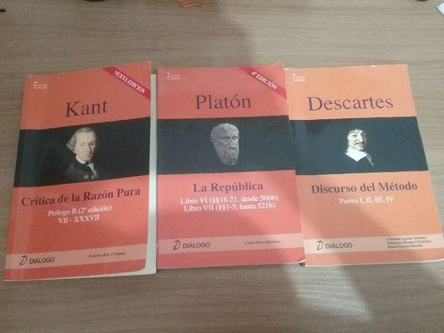 KANT, PLATÓN Y DESCARTES