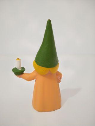 muñeca de Lisa de David el gnomo.