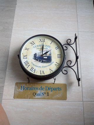 Reloj estacion tren