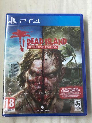 Dead Island definitive edition PS4 (precintado)