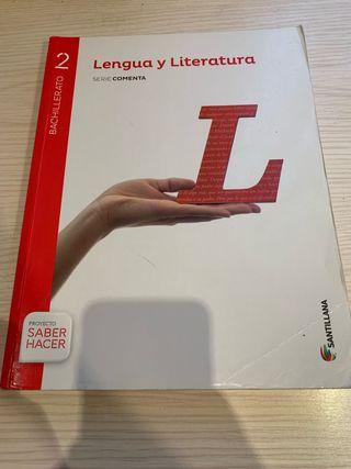 Libro de lengua y literatura castellana 2º batx.