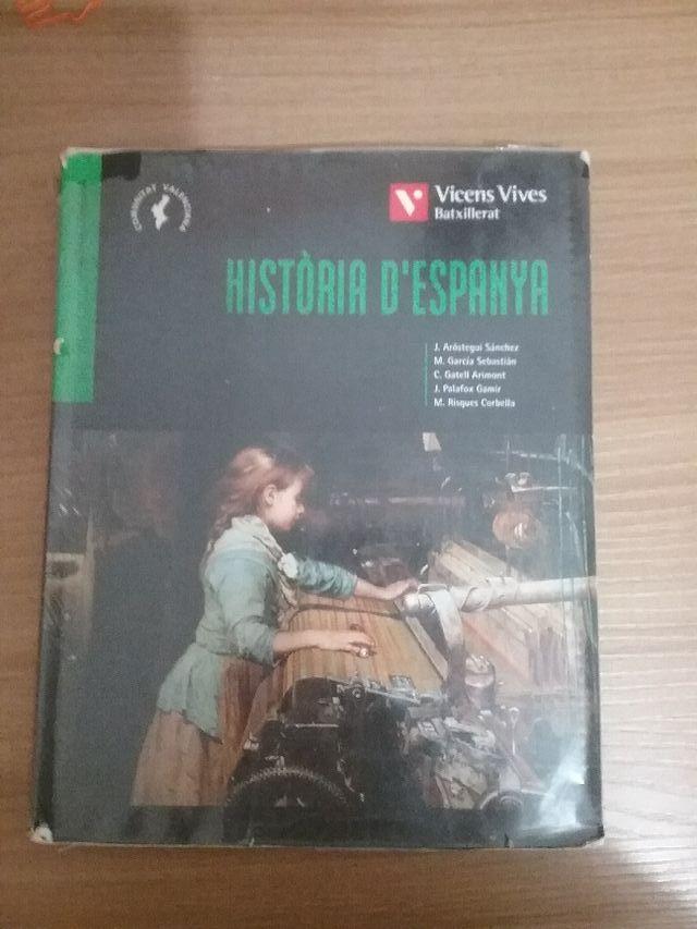 Historia d'Espanya. 2 batxillerat.