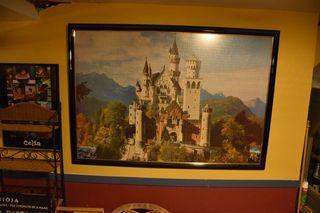 Puzzle de 5000 piezas enmarcado
