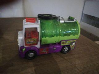 Camión de alcantarillado