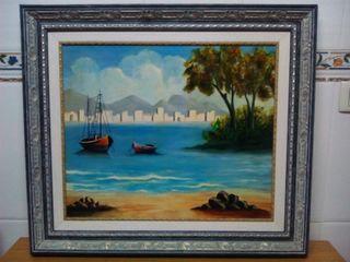 Cuadro pintado al oleo