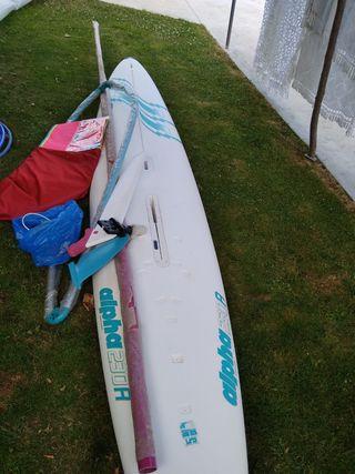 Equipo windsurf nuevo