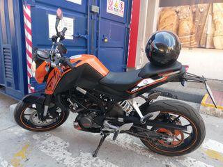 ktm duke 125cc 2011