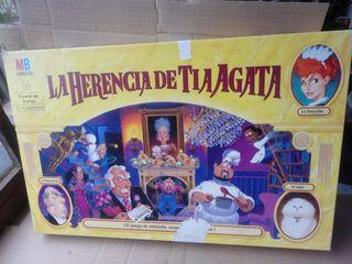 Juego La herencia de la tia agatha.