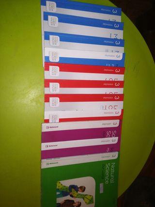 lote libros 3° de primaria
