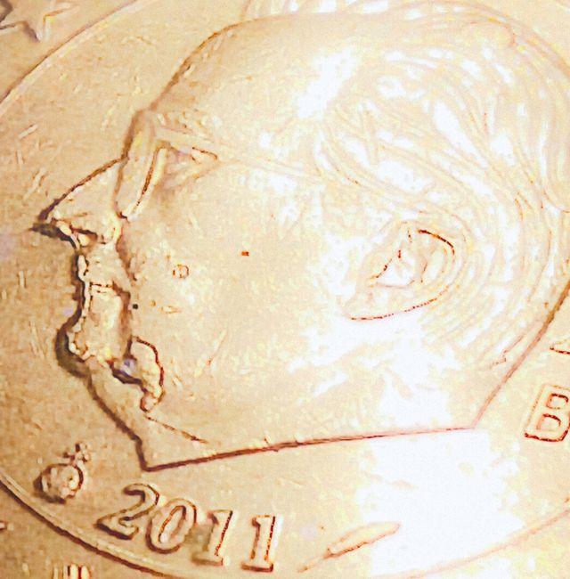 20 EURO CENT COIN BELGIUM 2011 ERROR DE ACUÑACIÓN