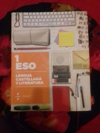 Libro 1 ESO Lengua castellana y literatura