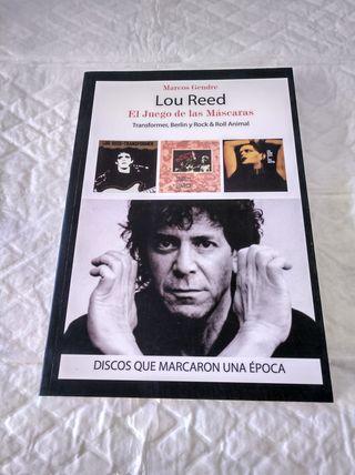 libro lou reed , el juego de las mascaras , marcos