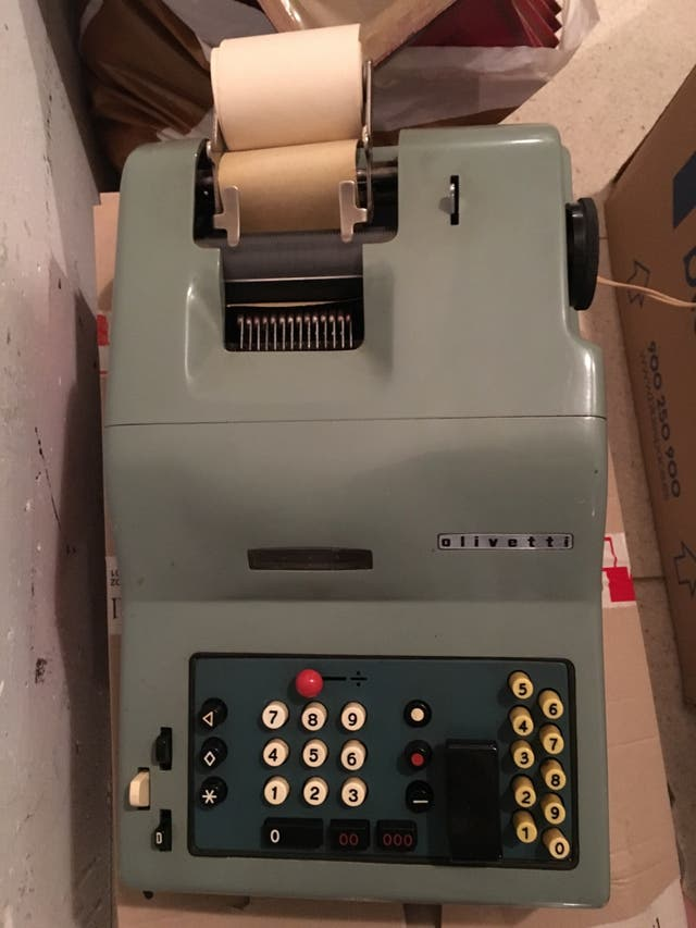 Calculadora Olivetti