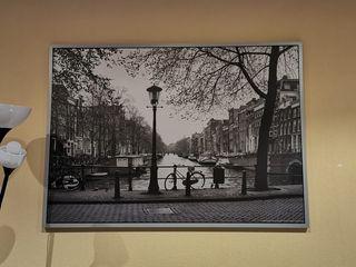 Cuadro canal de Amsterdam