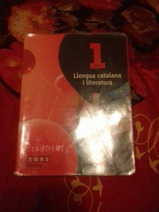 Libro 1 ESO Llengua catalana i literatura