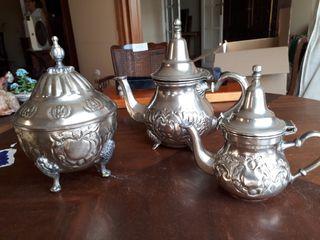 Juego de té, original de Marruecos
