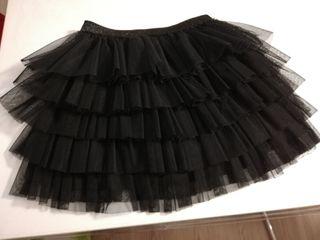 480bcbcca Falda de tul negra de segunda mano en Barcelona en WALLAPOP