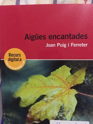 Aigües encantades -Libro bachillerato