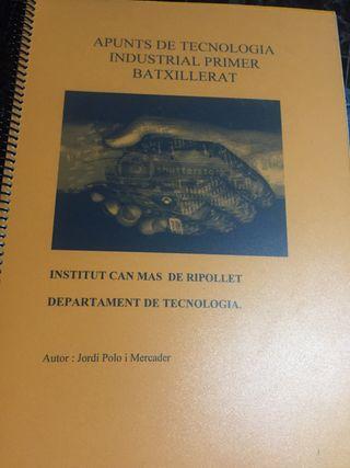 Libro tecnologia 1 bachillerato