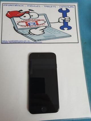 Iphone 7 128gb Color Negro Brillante Usado
